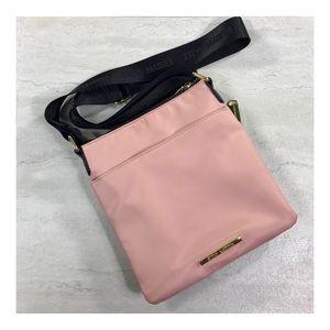 Steve Madden   Blush Pink Nylon Crossbody Bag